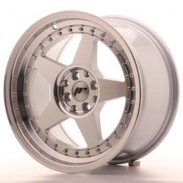 JR Wheels JR6 17×9 ET35 4×100/114 Silver Machined Face