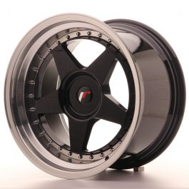JR Wheels JR6 18×10,5 ET0-25 BLANK Gloss Black w/Machined