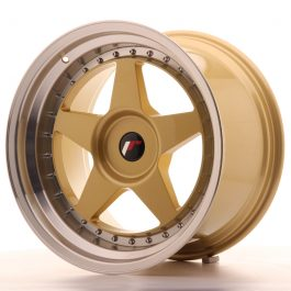 JR Wheels JR6 18×10,5 ET0-25 BLANK Gold w/Machined Lip
