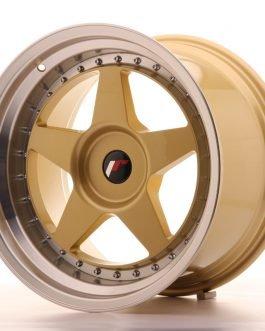 JR Wheels JR6 18×10,5 ET0-25 BLANK Gold w/Machined Lip