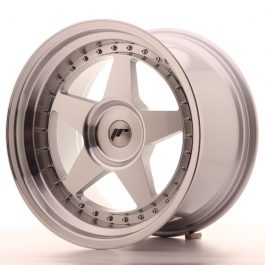 JR Wheels JR6 18×10,5 ET0-25 BLANK Silver Machined Face