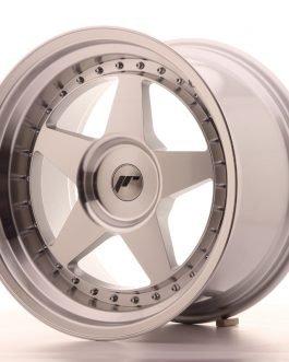 JR Wheels JR6 18×10,5 ET0-25 BLANK Silver Machined Face