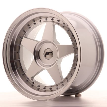 JAPAN RACING JR Wheels JR6 18x10,5 ET0-25 BLANK Silver Machined Face 10.50x18