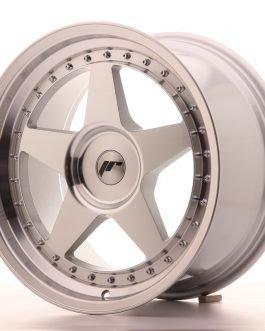 JR Wheels JR6 18×9,5 ET20-40 BLANK Silver Machined Face