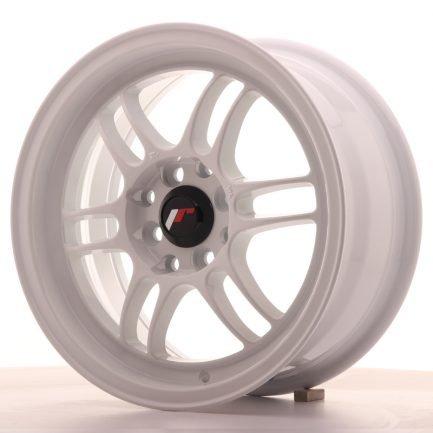 JAPAN RACING JR Wheels JR7 15x7 ET38 4x100/114 White 7.00x15