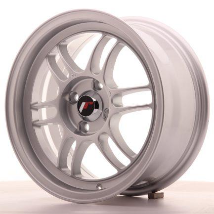 JAPAN RACING JR Wheels JR7 15x7 ET38 4x100 Silver 7.00x15