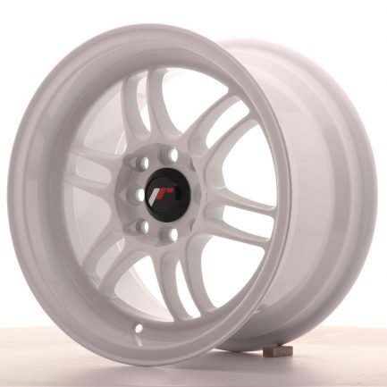 JAPAN RACING JR Wheels JR7 15x8 ET35 4x100/114 White 8.00x15