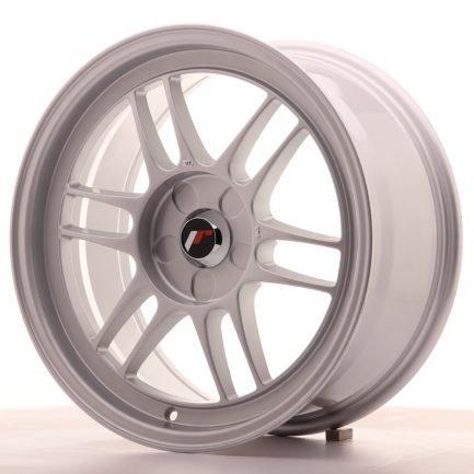 JAPAN RACING JR Wheels JR7 17x8 ET35 5H BLANK Silver 8.00x17
