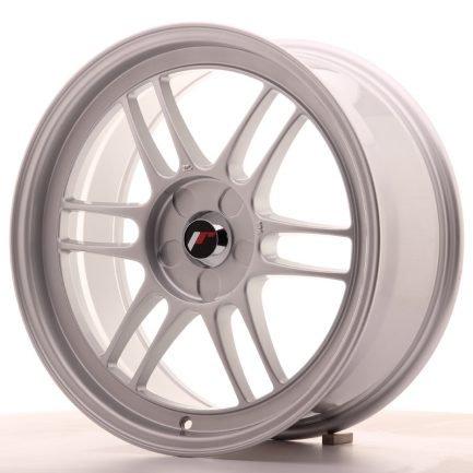 JAPAN RACING JR Wheels JR7 18x8 ET35 5H BLANK Silver 8.00x18