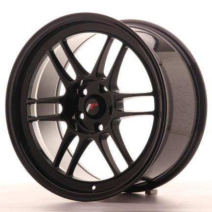JAPAN RACING JR Wheels JR7 18x9 ET35 5x114,3 Black 9.00x18