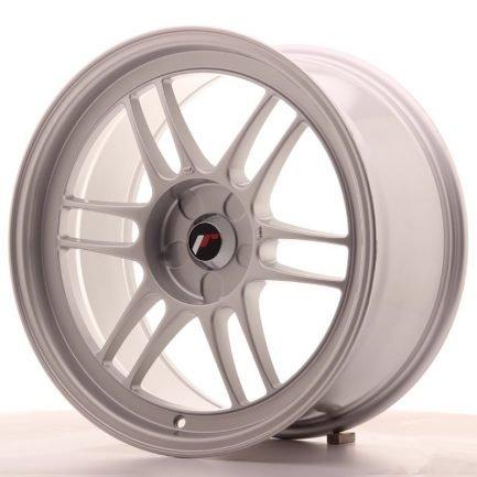 JAPAN RACING JR Wheels JR7 18x9 ET35 5H BLANK Silver 9.00x18