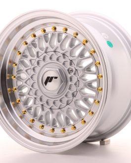 JR Wheels JR9 15×8 ET15 4×100/114 Silver w/Machined Lip