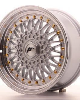 JR Wheels JR9 16×7,5 ET25 4×100/108 Silver w/Machined Lip