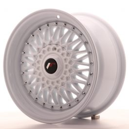 JR Wheels JR9 16×8 ET25 4×100/108 White Full Painted