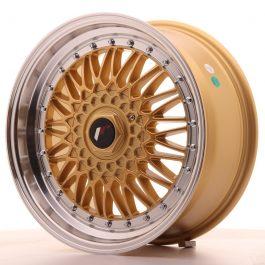 JR Wheels JR9 17×7,5 ET20 BLANK Gold w/Machined Lip