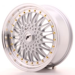 JR Wheels JR9 18×8 ET35-40 BLANK Silver w/Machined Lip