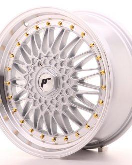 JR Wheels JR9 18×8 ET35-40 BLANK Silver w/Machined Lip
