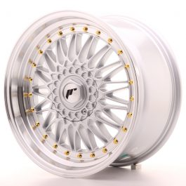 JR Wheels JR9 18×9 ET20-40 BLANK Silver w/Machined Lip