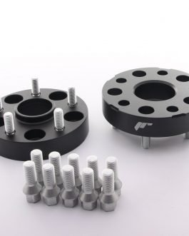 JRWA1 Adapters 30mm 4×100 57,1 57,1 Black