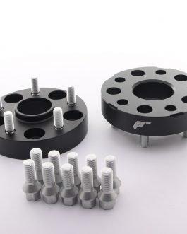 JRWA1 Adapters 30mm 5×112 66,6 66,6 Black