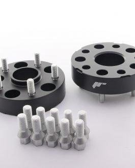 JRWA1 Adapters 35mm 5×112 66,6 66,6 Black