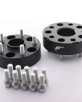 JRWA1 Adapters 40mm 5×112 57,1 57,1 Black