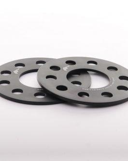 JRWS1 Spacers 5mm 4×114/5×114 66,1 Black