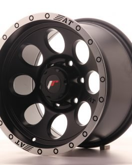JR Wheels JRX4 16×9 ET0 6×139.7 Matt Black w/Machined Lip