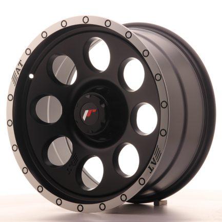 JAPAN RACING JR Wheels JRX4 18x9 ET0-20 6H BLANK Matt Black w/Machined Lip 9.00x18