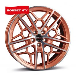 Borbet GTY copper polished glossy 8.5×19 ET: 45 – 5×112