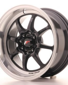 Japan Racing TF2 15×7,5 ET30 4×100/114 Gloss Black