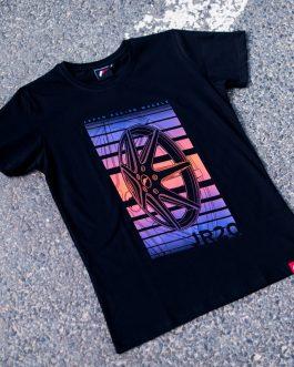 JR Men T-Shirt JR-20 Face Black Size S