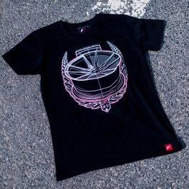 JR Men T-Shirt JR-21 Laurel Black Size S