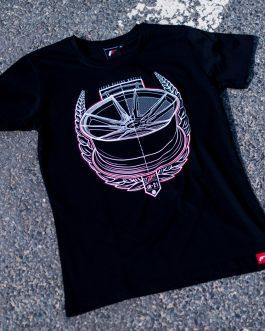 JR Men T-Shirt JR-21 Laurel Black Size XL