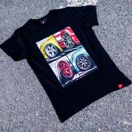 JR Men T-Shirt MIX Black Size XXL