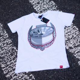 JR Men T-Shirt JR-11 Laurel White Size L