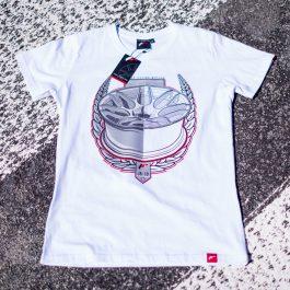 JR Men T-Shirt JR-18 Laurel White Size L