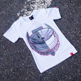 JR Women T-Shirt JR-21 Laurel White Size XS