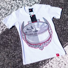 JR Women T-Shirt JR-11 Laurel White Size L