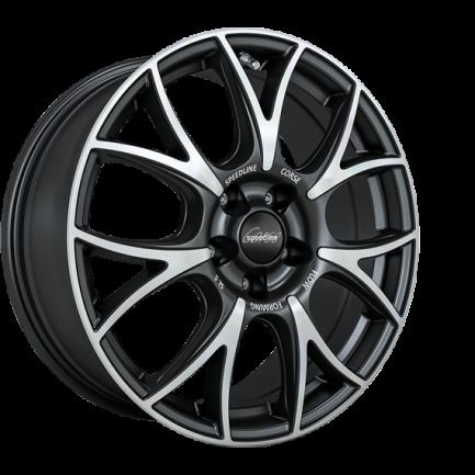 Speedline Corse SL5 Vincitore MATT BLACK FACE-CUT 7.5x18 ET: 50 - 5x114.3