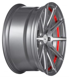 Barracuda PROJECT 2.0 silver brushed/ undercut Color Trim rot 8.5×19 ET: 40 – 5×115