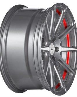 Barracuda PROJECT 2.0 silver brushed/ undercut Color Trim rot 10.5×20 ET: 40 – 5×120
