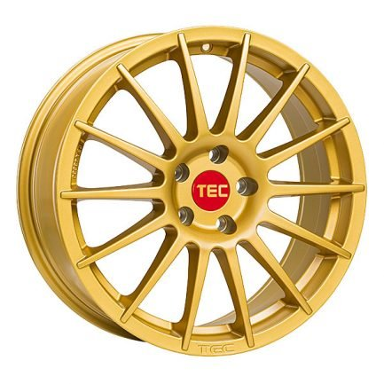 TEC Speedwheels AS2 Gold CB: 64.0 8x18 ET: 35 - 5x100