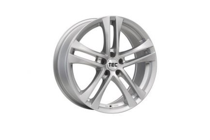 TEC Speedwheels AS4 Cristal silver CB: 57.1 6.5x16 ET: 38 - 5x100