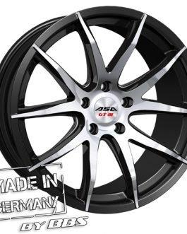 ASA GT3 Black machined face CB: 72.5 9×20 ET: 35 – 5×120