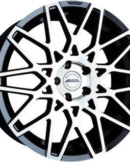 ASA GT4 Black machined face CB: 72.5 8.5×18 ET: 30 – 5×112