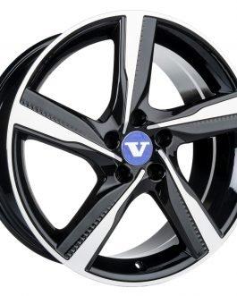 V-Wheels Tornado Black Polished 8×18 ET: 50 – 5×108