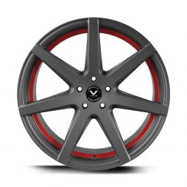 Barracuda VIRUS Gunmetal/ undercut Color Trim rot 9.0×20 ET: 12 – 5×120