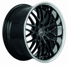 Barracuda VOLTEC T6 Higloss black inox lip 8×18 ET: 38 – 5×120