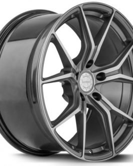 Barracuda INFERNO Higloss-Gunmetal-polished 8.5×19 ET: 37 – 5×120